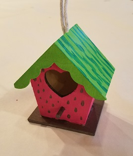 bird house ornaments May Studio Nights With Bookmans Bird House Ornaments